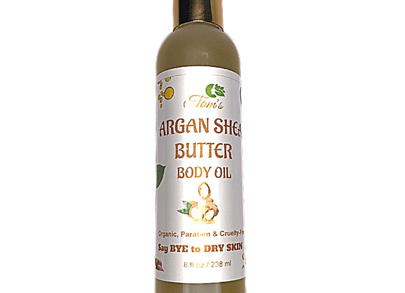 Argan Shea Butter Body Oil