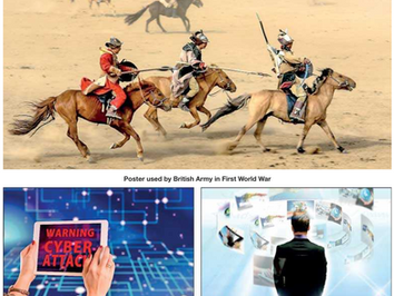 People, Process and Technology: Learn from traditional warfare strategies to fight cyberwarfare