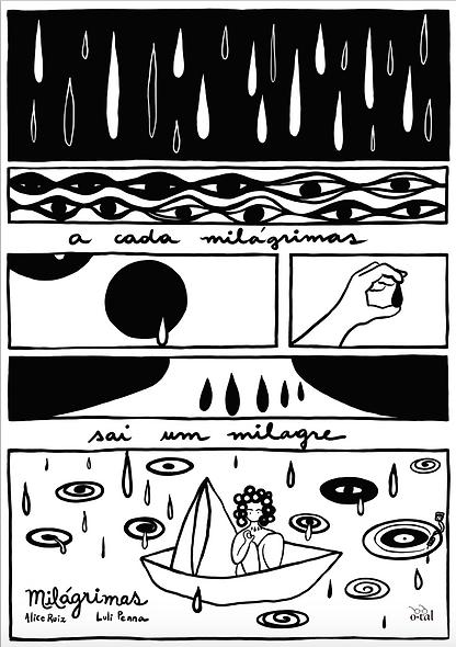 """Lambe """"Milágrimas"""" - Luli Penna"""