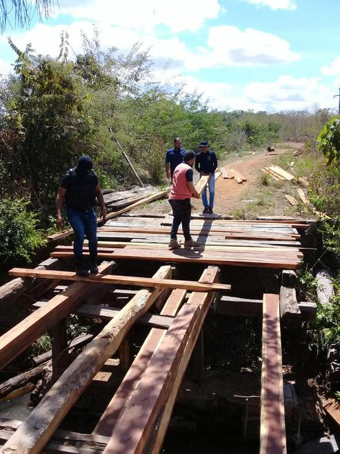 Ponte do povoado Poço d'água de Cantanhede