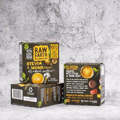 Raw Earth - 澳洲天然羅漢果糖40包 (適合生酮, 天然代糖, 健康糖)