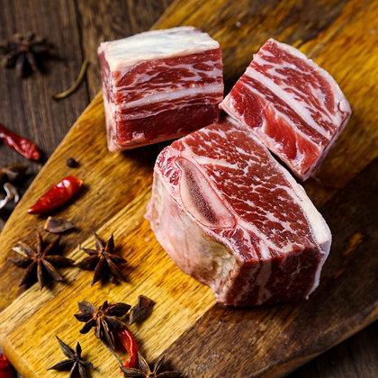 美國安格斯牛肋肉. 韓式牛肋骨. 帶骨 (520G/包)