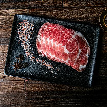 美國天然豬梅肉. 薄切 (200G/包)