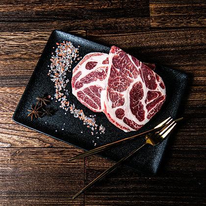 西班牙iberico 橡果級黑毛豬梅肉. 厚切. 2塊/包. 160G/塊