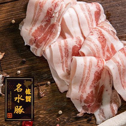 日本佐賀名水豚豬腩. 薄切 (200G/包)