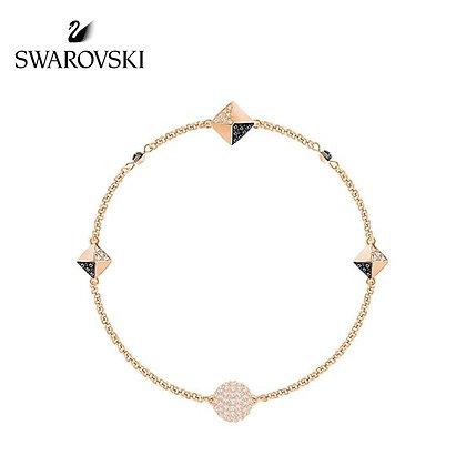 Swarovski Remix 鉚釘手鍊,玫瑰金色