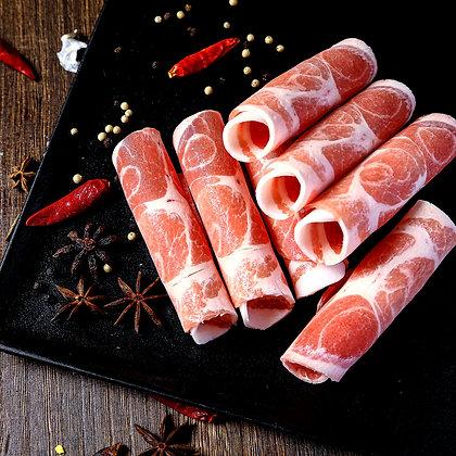 巴西豬梅肉. 薄切. 火鍋及韓燒用 (250G/包)