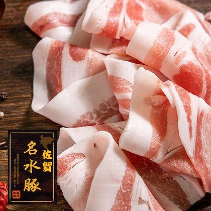 日本佐賀名水豚豬赤肉. 薄切 (200G/包)
