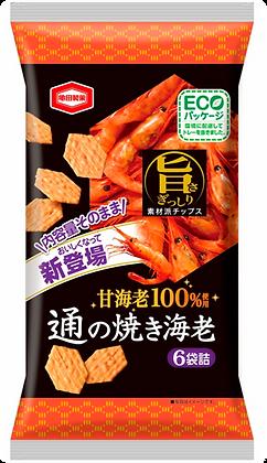 甜蝦米果  /  通の焼き海老 70G
