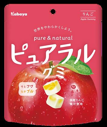 Pureral 軟糖(蘋果口味) 58G