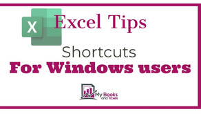 +40 Helpful Excel shortcuts for Windows users