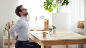 Have you had muscle aches from work at home? Here are 5 tips to improve your posture and your habits