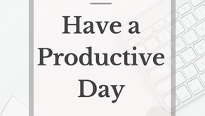 10 tips to make your day more productive