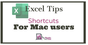 Helpful Excel shortcuts for Mac users
