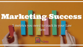 Marketing Success: 5 metrics you need to track in your Law Firm.