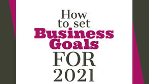 How to Set Business Goals for 2021
