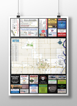 Road and Street Map
