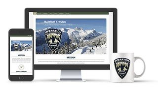 Logo and Custom Website Design for Operation Veterans Off-Road in Bradford, VT