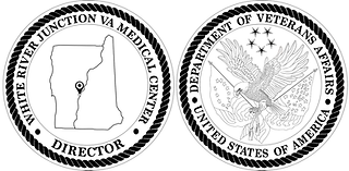 Challenge Coin for the White River Junction VA Medical Center in White River Junction, VT