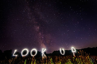 Look Up- The Milky Way over Stowe, VT