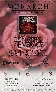 The Floor's Embrace Flyer