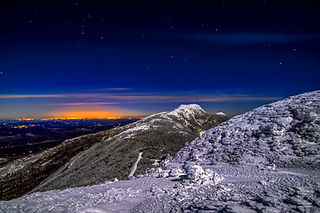 Midnight on The Face- Mount Mansfield Summit Landscape