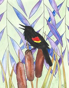 Teal Emlyn Illustration