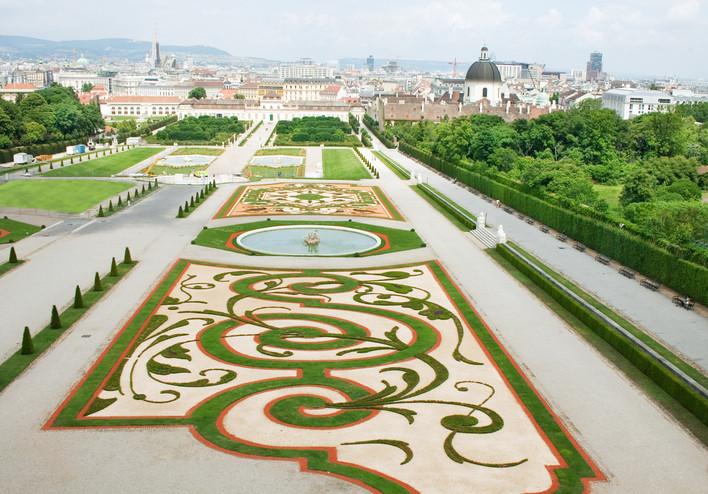 Austria Viena turismo Scholss castillo