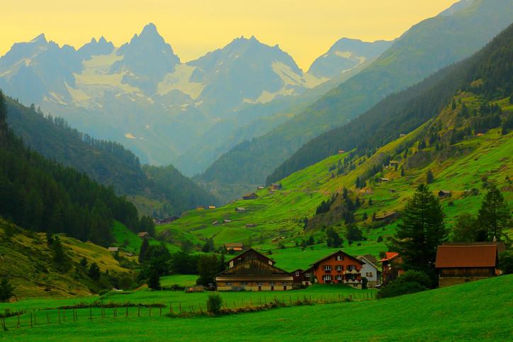 Switzerland mountains montblanc travel