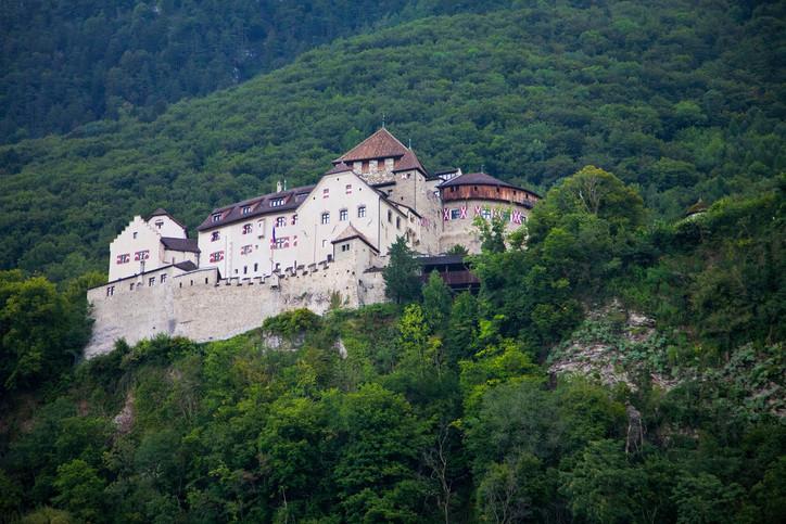 Liechtenstein Castle Vaduz