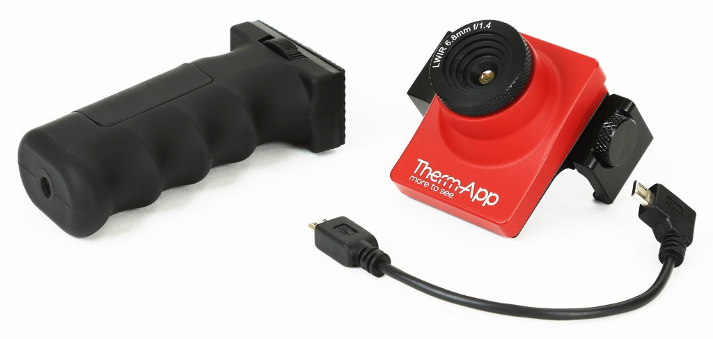 ThermApp camera and accessories