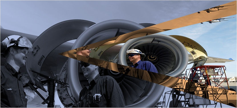 Detecting technologies for aerospace and composite material testing