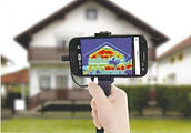 Thermographic detection technology, thermal camera on your smart phone