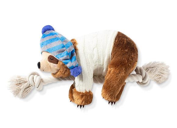 PRE ORDER Fringe Studio Christmas Sloth On a Rope