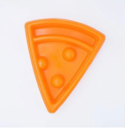 Zippy Paws Happy Bowl Interactive Slow Food Dog Bowl - Pizza