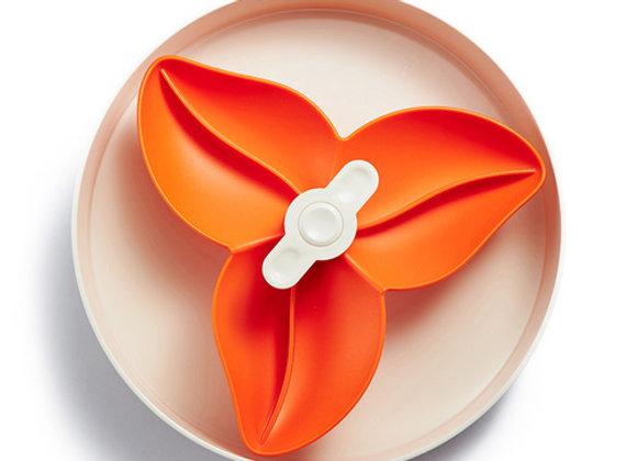 SPIN Interactive Adjustable Slow Feeder Bowl- Flower