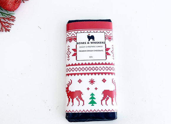 Daggy Christmas Jumper Chocolate Bar