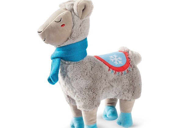 PRE ORDER Fringe Studio Christmas Llama with a Scarf