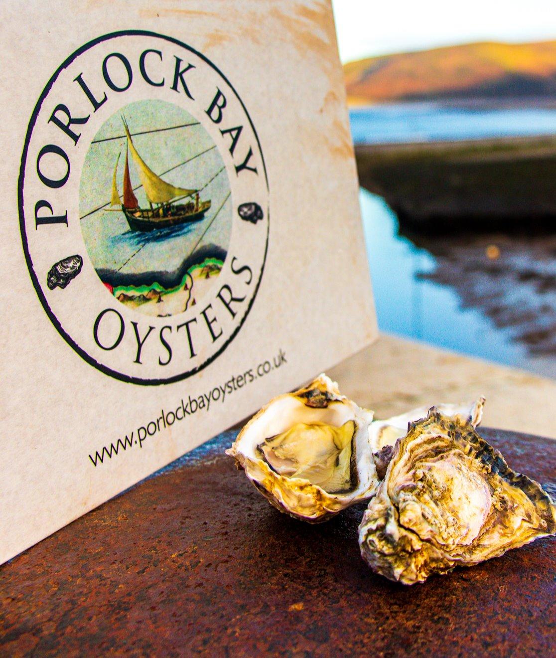 Porlock raw oysters