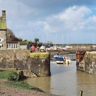 Porlock Weir, 13th century harbour