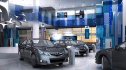 Interior Design Automotive Showroom
