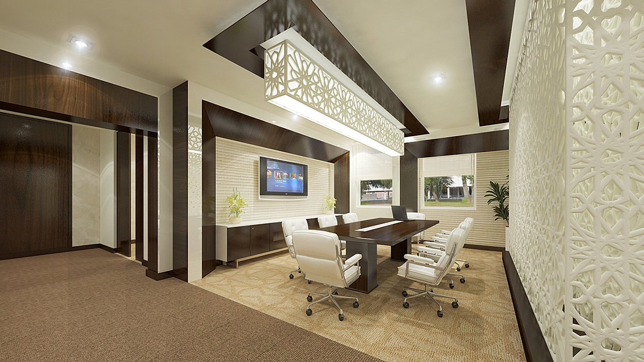 Executive Meeting Room Concept Classic Office Interior Design