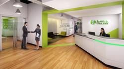 Corporate Office Reception Design