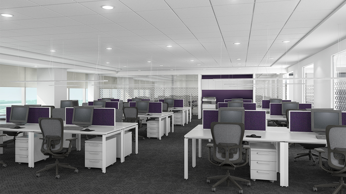 Call Center Seating Design
