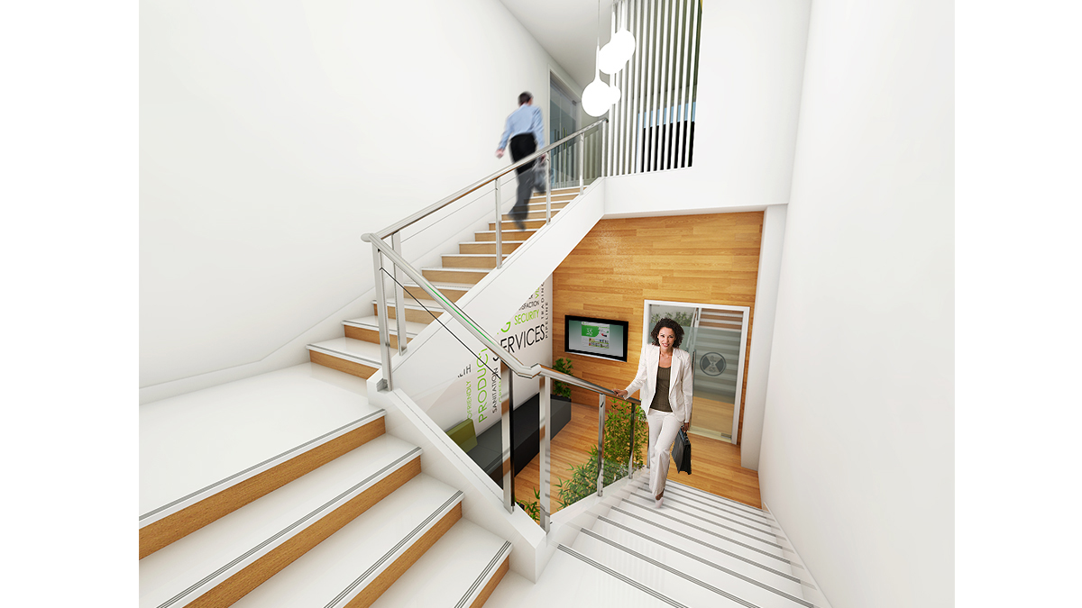 Office Stair Designs