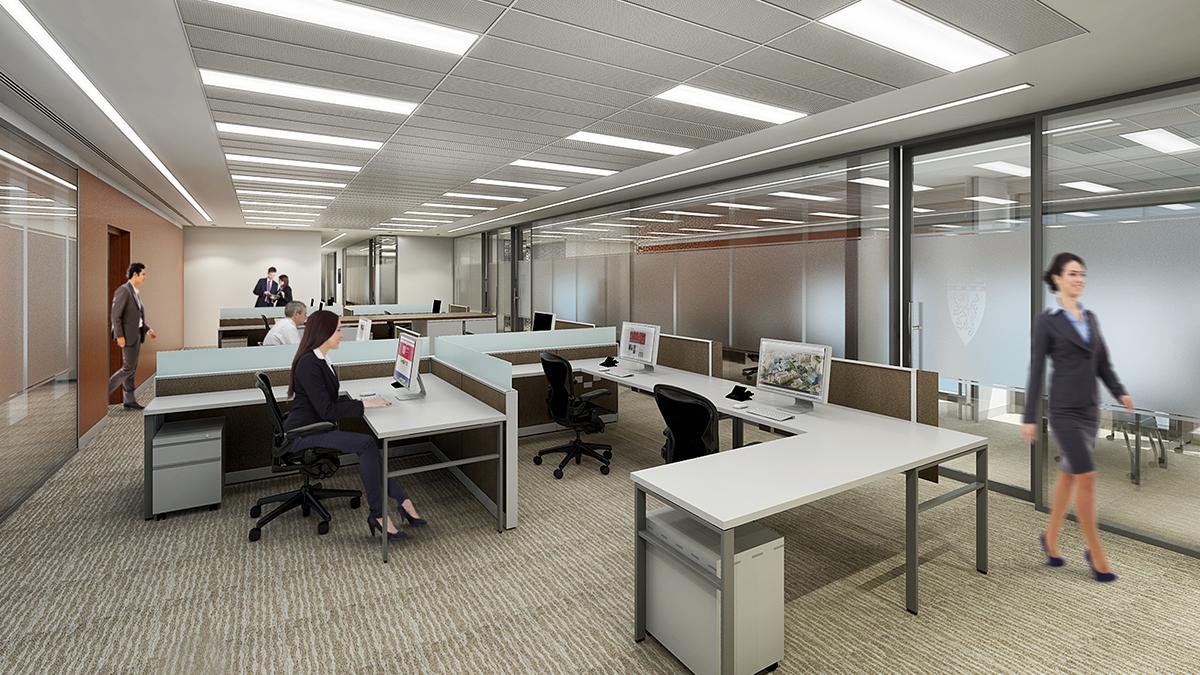 Corporate Head Office Interiors