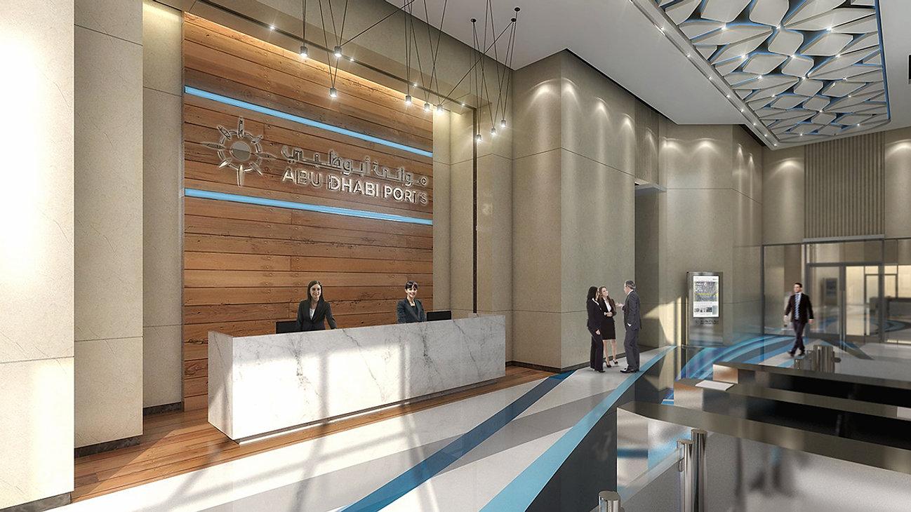 Abu Dhabi Ports Head Office Al Taweelah 580sqmts
