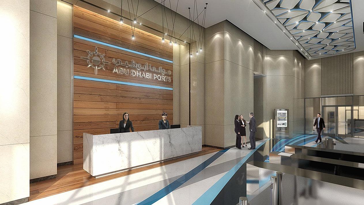 Main Reception Interior Concept
