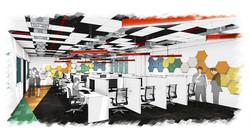 call center innovative design