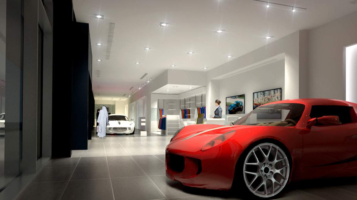 Car Showroom Designer